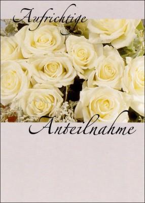 Gedenkkarte Flowers