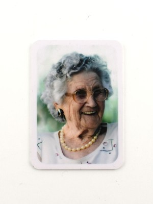 Alu-Gedenkschild mit Aufdruck 7,5 x 5,3 cm wetterbeständig