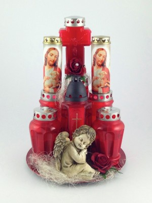 Kerzengesteck Rosano
