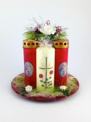 Kerzengesteck Vitario